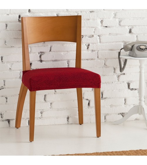 Housse assise de chaise bi extensible Tibet