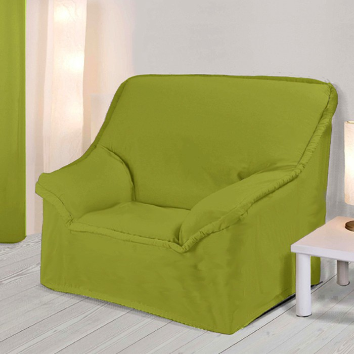 housse fauteuil a accoudoirs anis