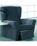 Housse fauteuil relax extensible orion