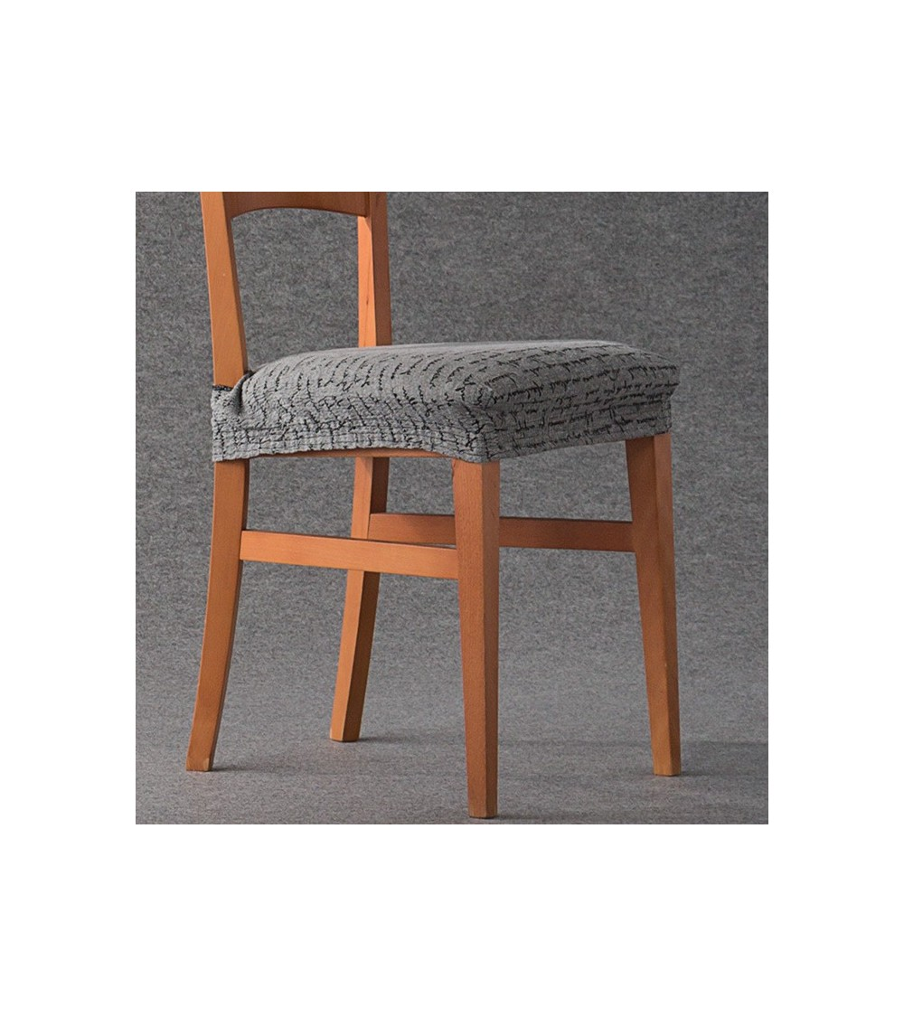 Housse assise de chaise extensible Letras