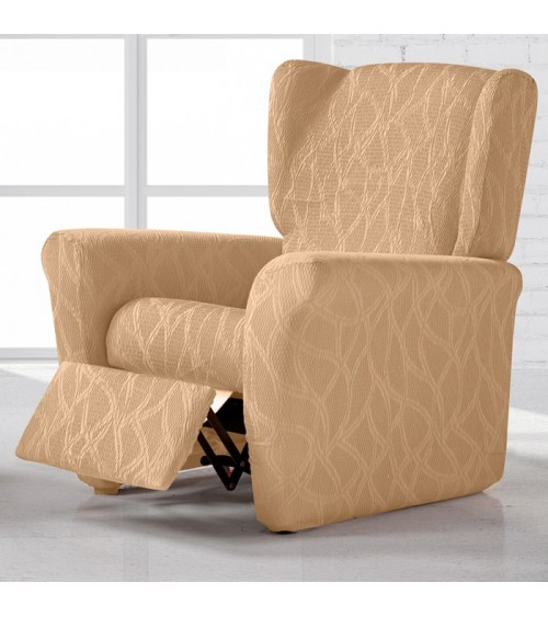 Housse fauteuil relax extensible alexia