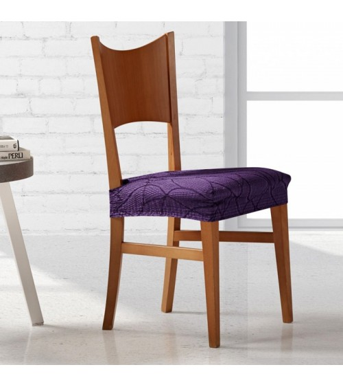 Housse assise de chaise extensible Alexia